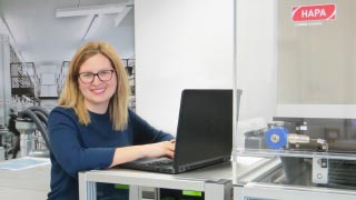 Maria Sales Requena, Technical Sales Manager bei Hapa